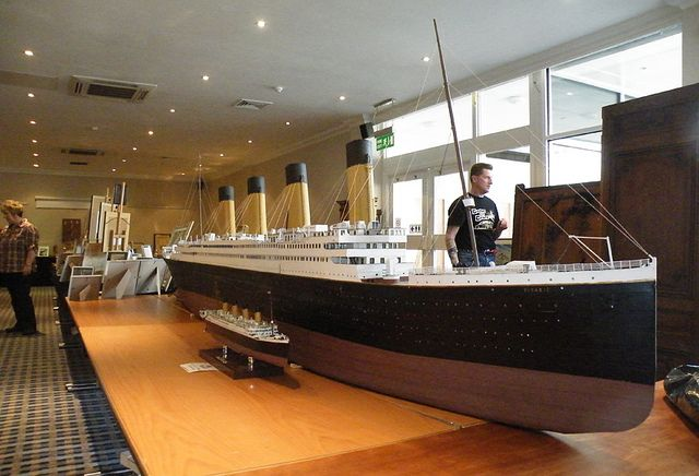 Model of the Titanic by hollingworthdavid, via Flickr