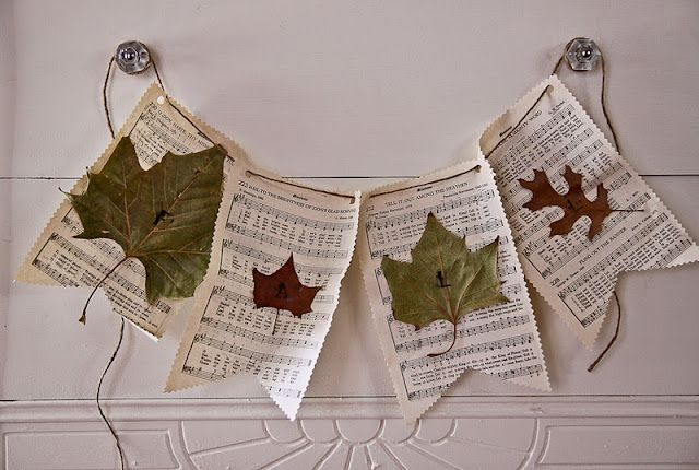 Fall Banner [Crafting with Kids] ... ... ... The Farmer's Nest: DIY