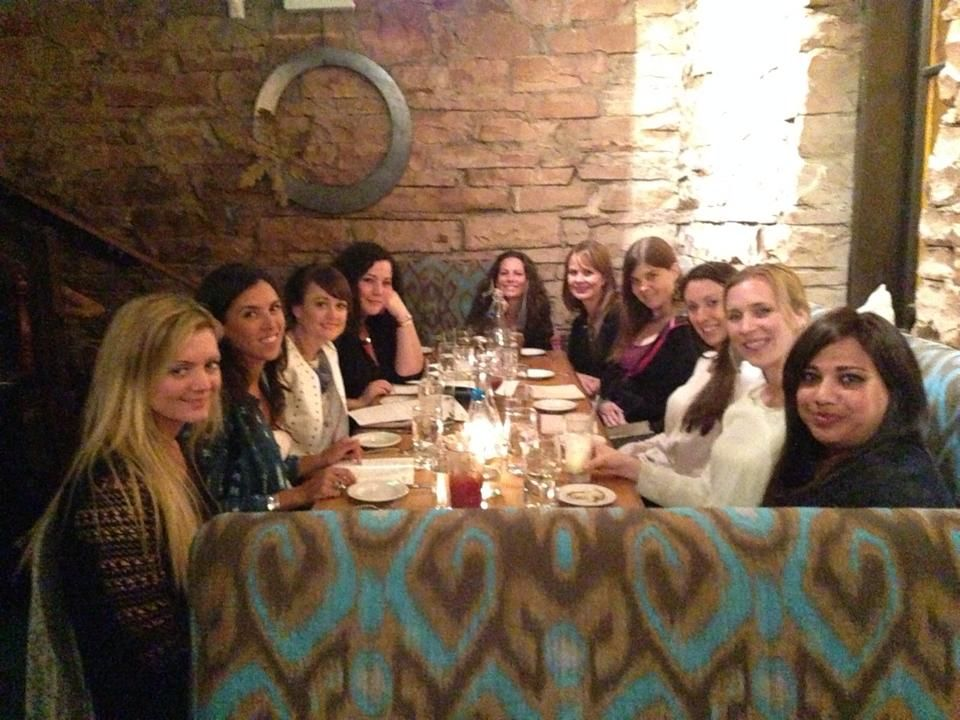 Meeting up at SALT bistro in Boulder, CO with my mastermind sisters.