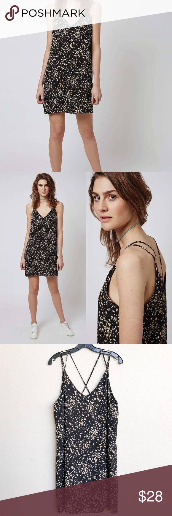 3813578e1df7 Leopard Bandeau Bikini Top | Topshop. Slip Dresses.