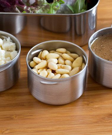 Take a look at this 1.5-Oz. Condiment Container - Set of Three by LunchBots on #zulily today!