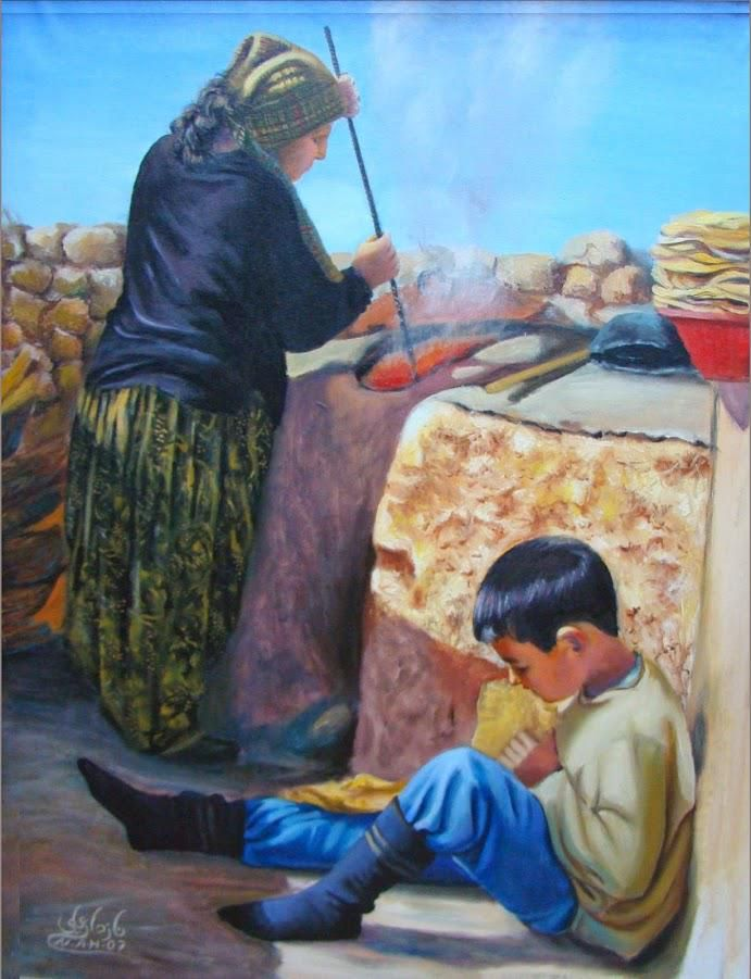 السومري On Twitter Art Village Painting Diy Art Painting