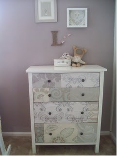 Wallpaper Hodge Podge, Depends On What Bed U0026 Bed Spread We Get Her. Renovate  + Decorate: How To. Wallpaper A Dresser