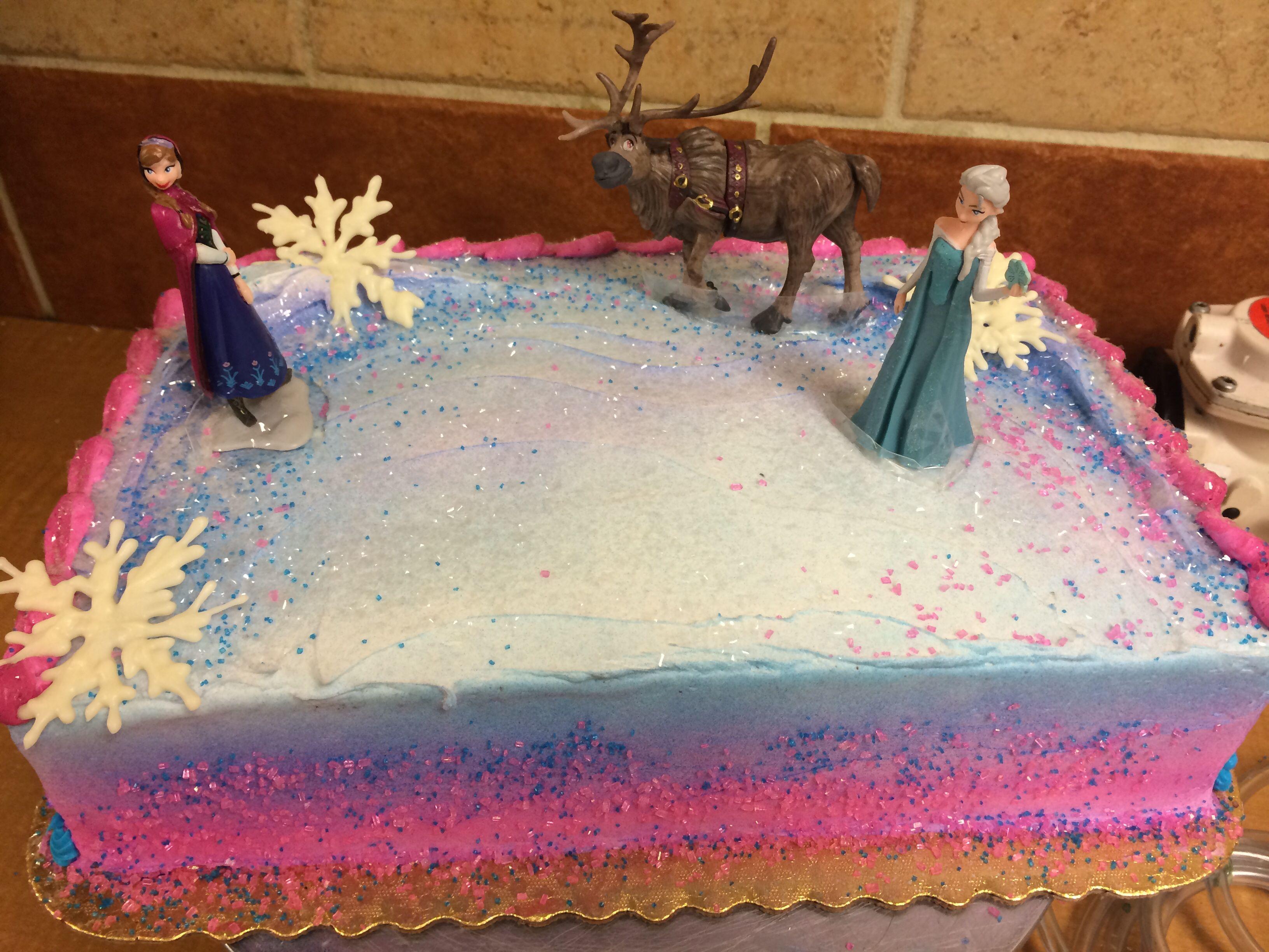 Frozen Birthday Cake Edmonton. Frozen. Inspiring Birthday Cake Ideas