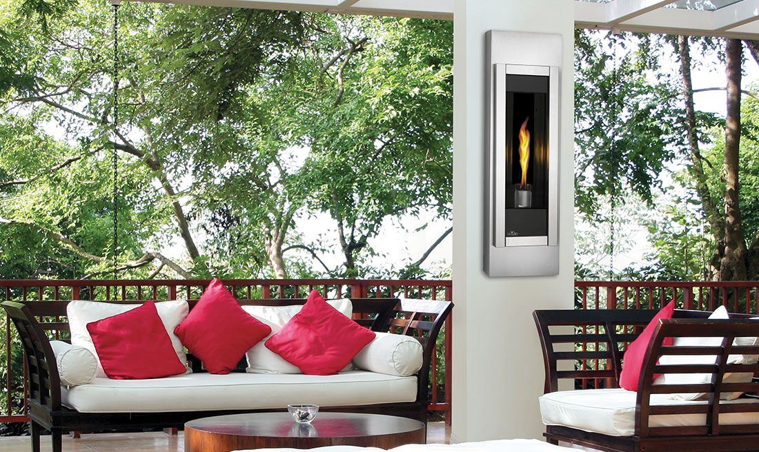 Napoleon Riverside Torch® Outdoor Gas Fireplace | Outdoor ... on Riverside Outdoor Living id=54818