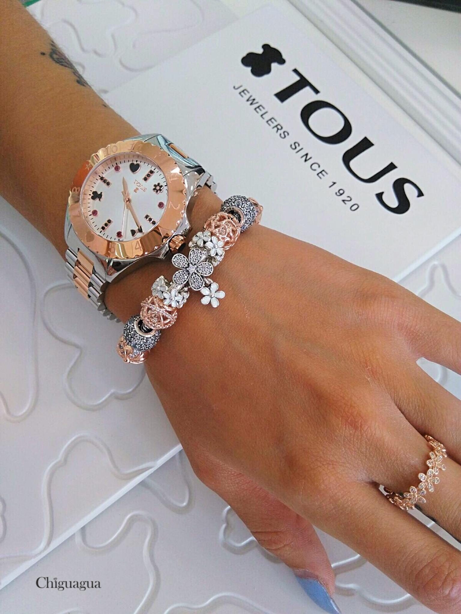 bracciale pandora orologio
