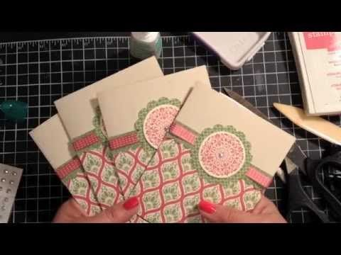 DIY Mother's Day Gift idea...a set of handmade cards! www.inkandinspirations.com