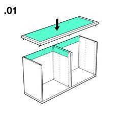 diy dj m bel aus ikea s besta serie dj m bel regal und dj tisch. Black Bedroom Furniture Sets. Home Design Ideas