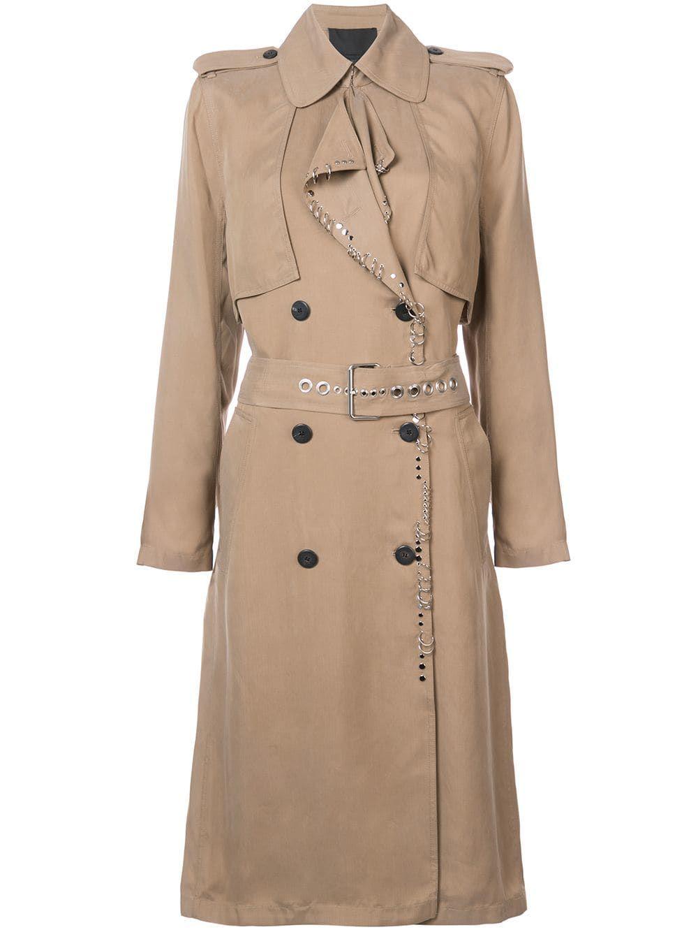 Alexander Wang long trench coat