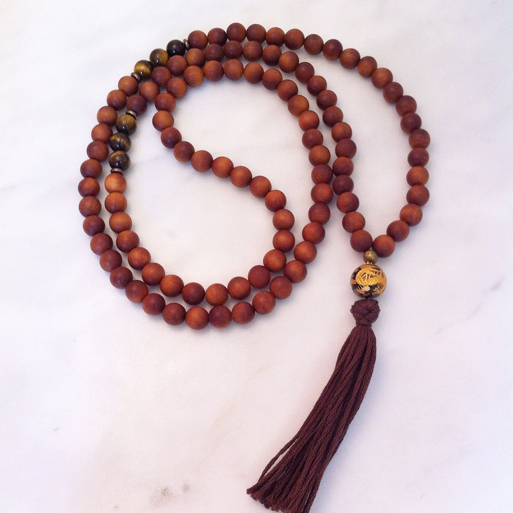 108 Shiva mala beads. Mala beads for balance and calming. Gemstone mala beads for masculine energy, soothing, and relaxing the nervous system.