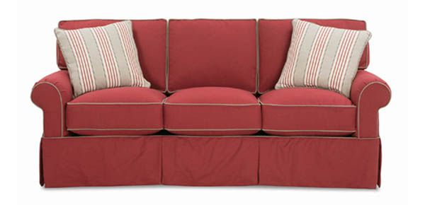 Hermitage Slip Cover Sofa By Rowe Furniture. Available In Many Different  Fabrics.