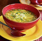 Golden Chicken, Corn & Orzo Soup