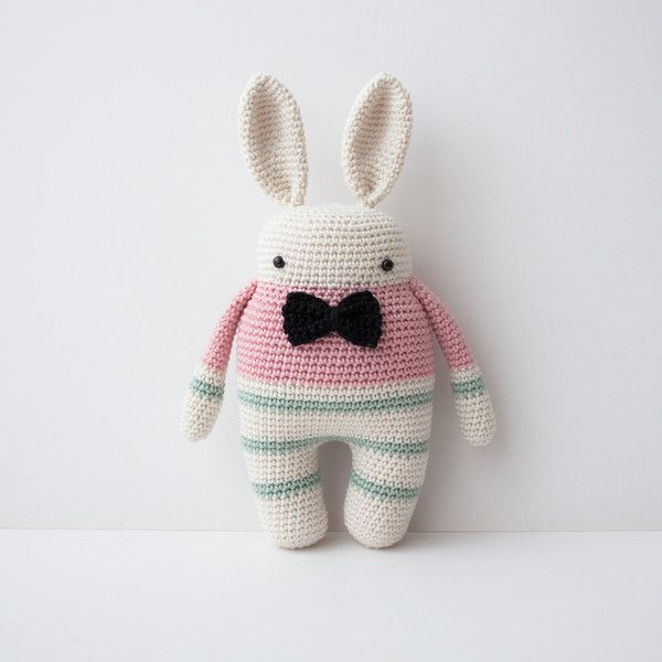 Häkel+Figur+Hase+Hans+von+olialemon+auf+DaWanda.com | Crochet ...