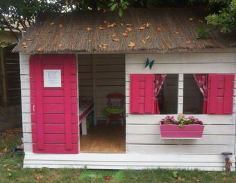 cabane pour enfant en palettes 6m cabane enfant palette jardin enfant pinterest cabane. Black Bedroom Furniture Sets. Home Design Ideas