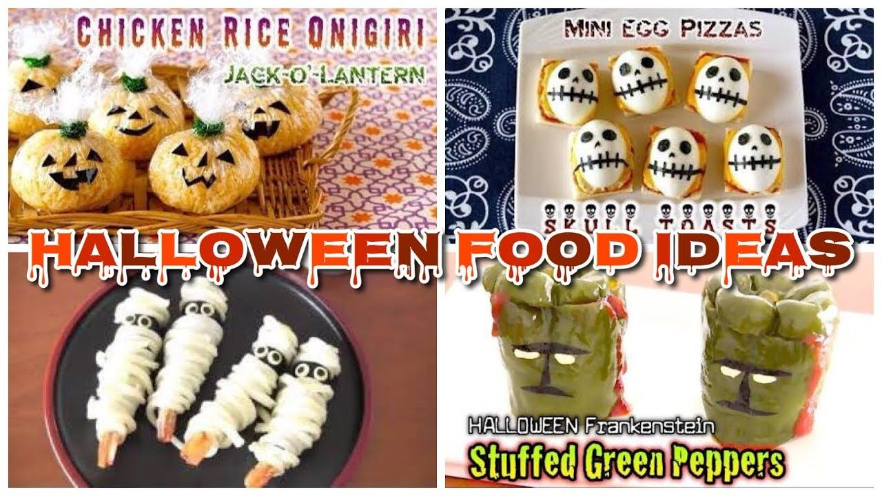 11 halloween party food ideas (cute, fun, and easy recipes