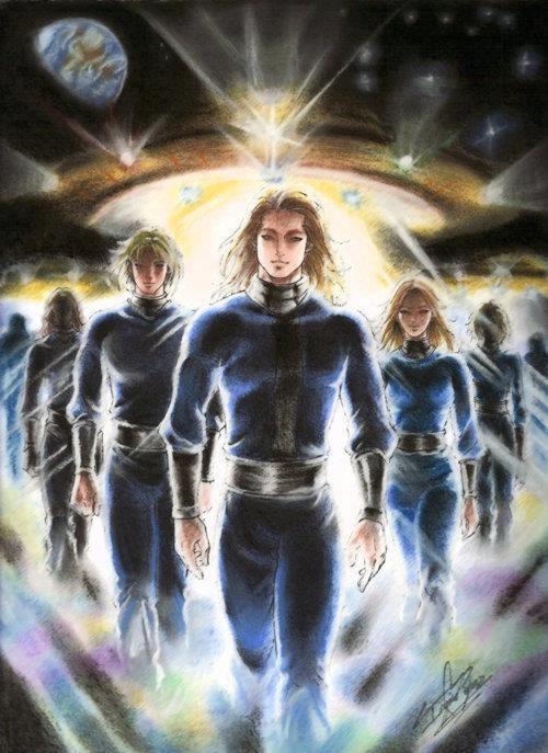 Pleiadians | Nordic aliens, Ancient aliens, Alien races