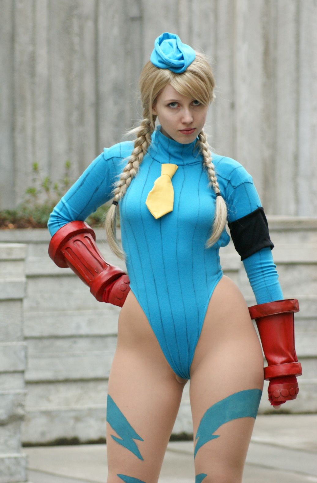 Street fighter cammy cosplay ass