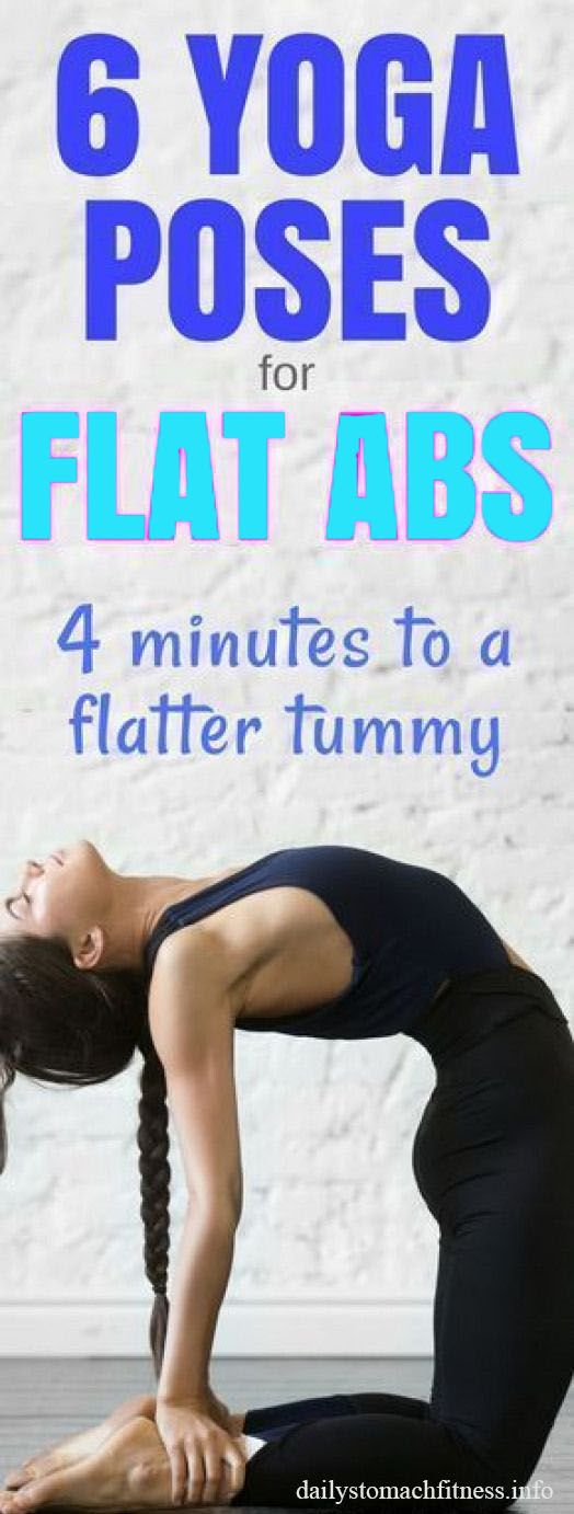 5 Yoga Poses for Flat Abs   Beginner yoga workout, Yoga