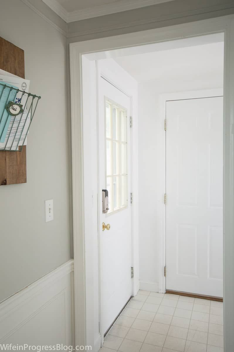 How to paint a door so that it wont chip or peel