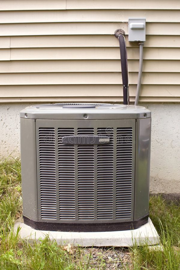 Central Air Conditioning. A residential central air