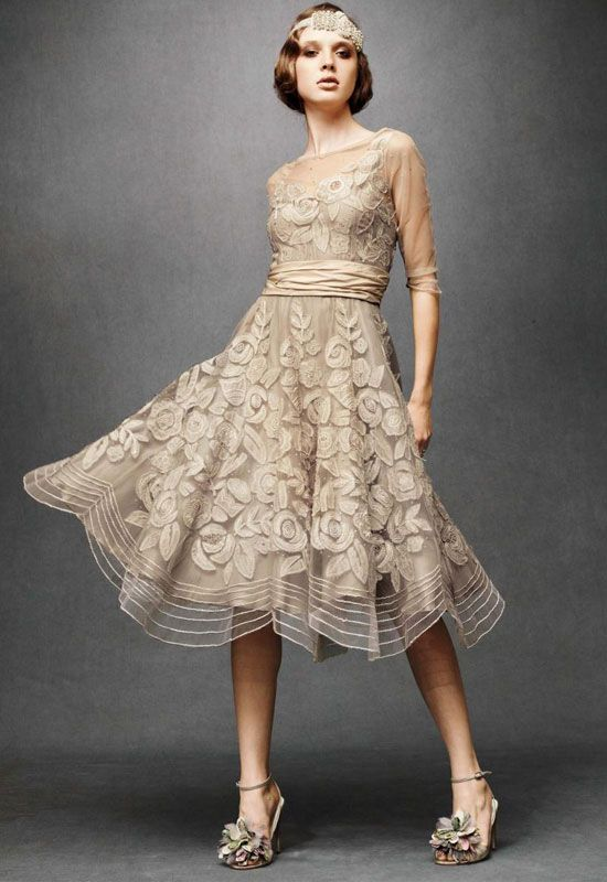Modern Vintage Wedding Dresses with Crown | Hmmmm... What do u think ...
