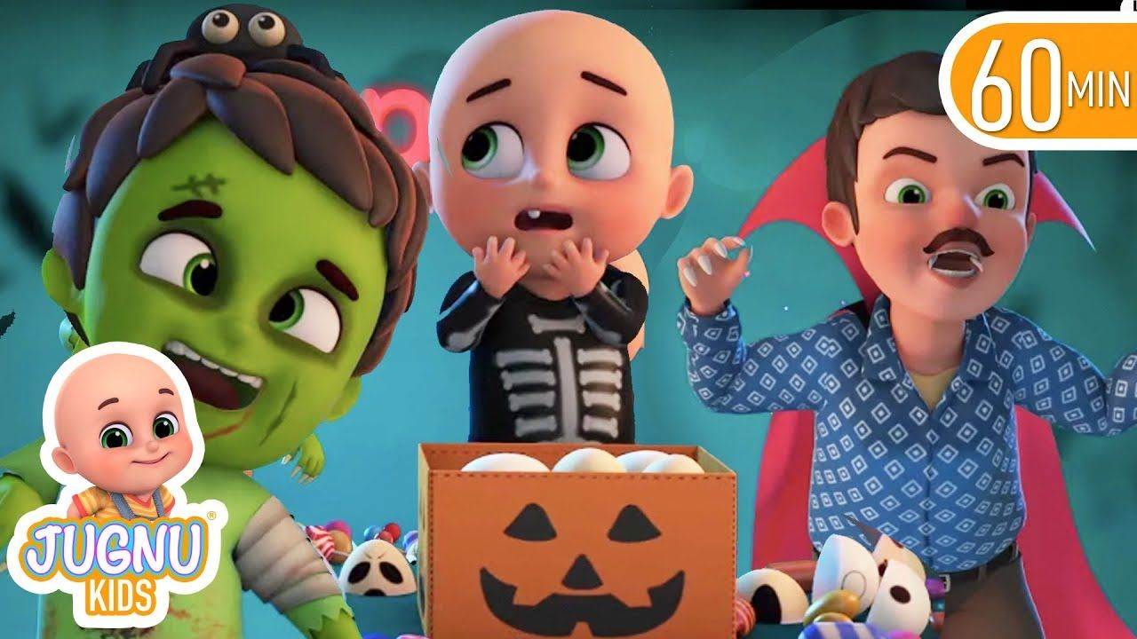 The Trick Or Treat Song Halloween Nursery Rhymes Kids Songs Abcs And 123s Jugnu Kids Halloween Nursery Rhymes Kids Nursery Rhymes Kids Songs