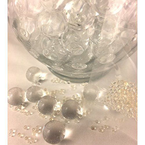 Clear Transparent Water Gel Beads Water Pearls Water Crystals