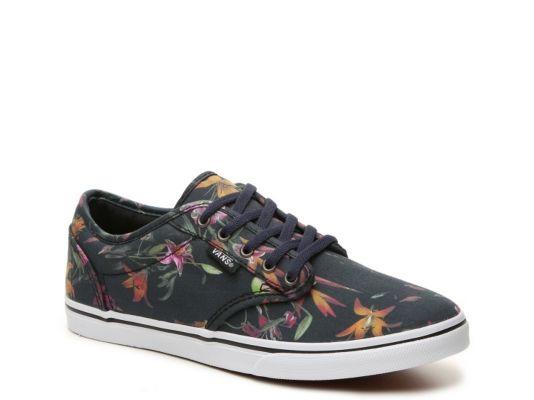 Women's Vans Atwood Low Floral Sneaker -  - Navy/Multicolor