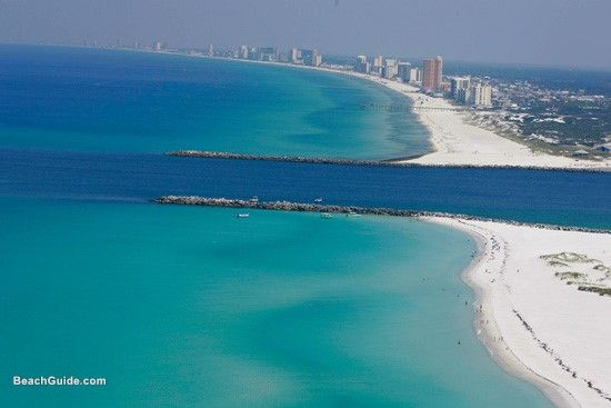 Panama City Beach Florida P From The Bay To Gulf Of Mexico
