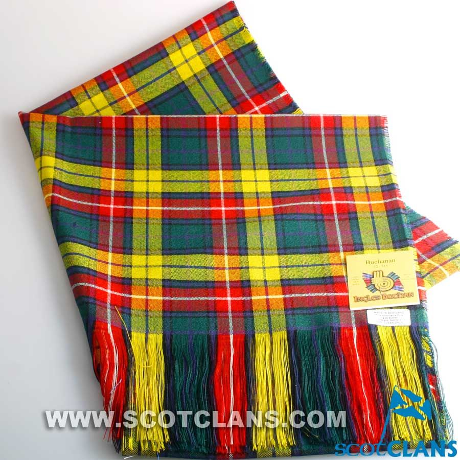 Clan Buchanan Tartan Stole http://www.scotclans.com/scottish_clans ...