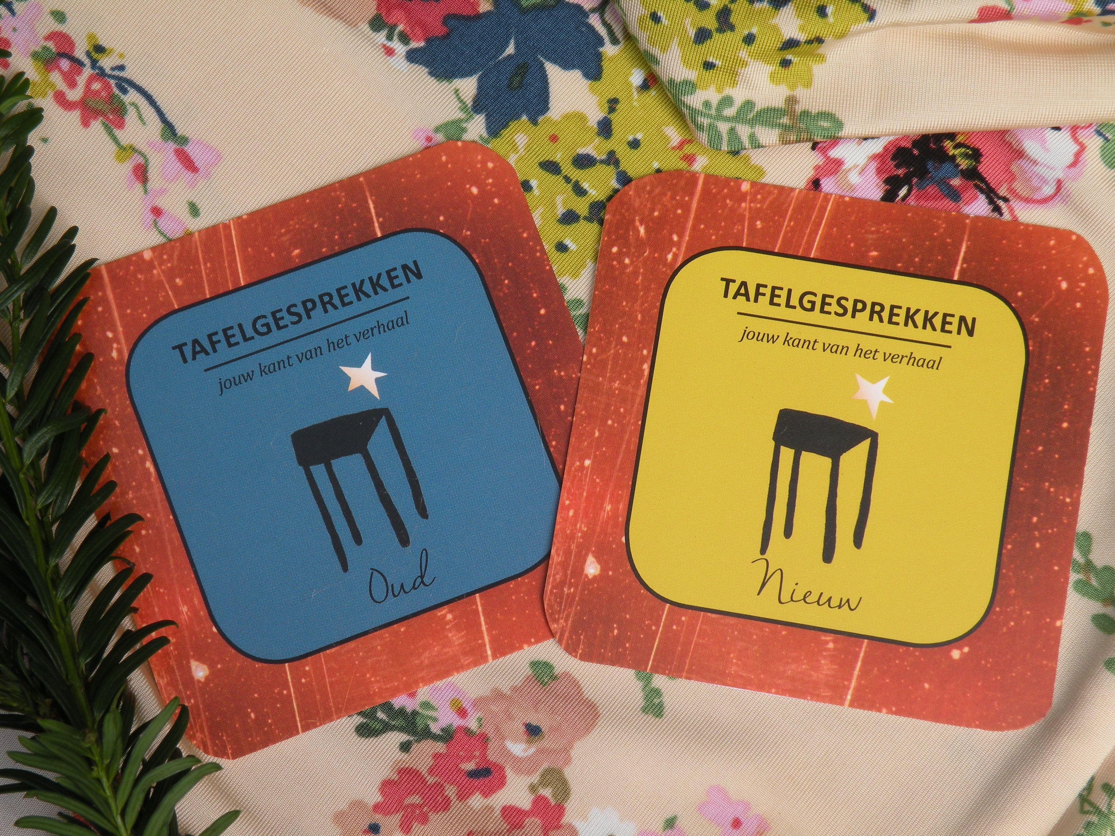 Met oud en nieuw de kaarten op tafel tafelgesprekken feestdagen