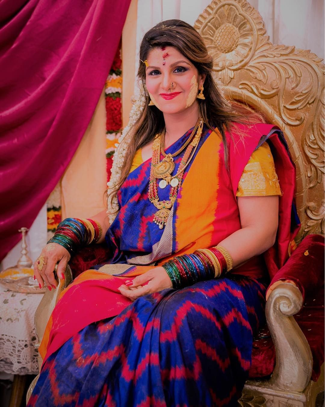 a4a635554ceeb Actress Rambha Danced at her baby shower | $ - Actress in 2019 ...
