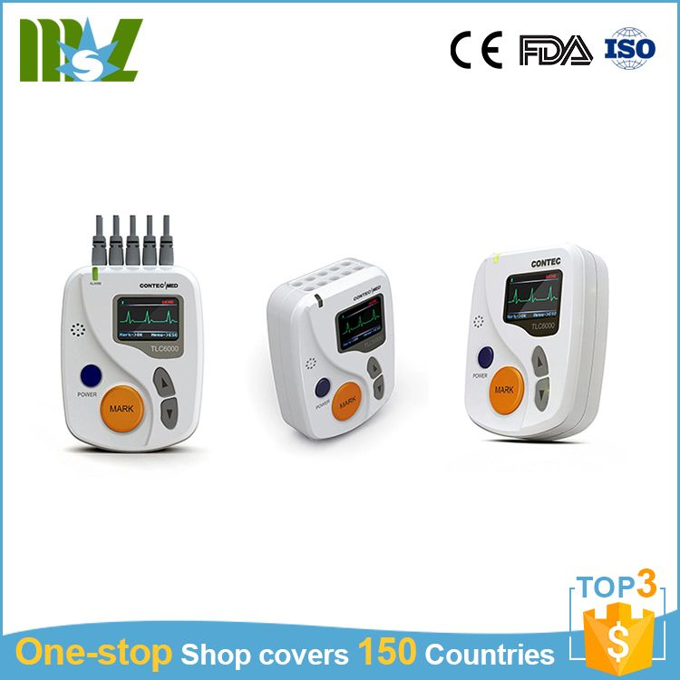Medical manufacture 12-lead system holter ecg monitor system
