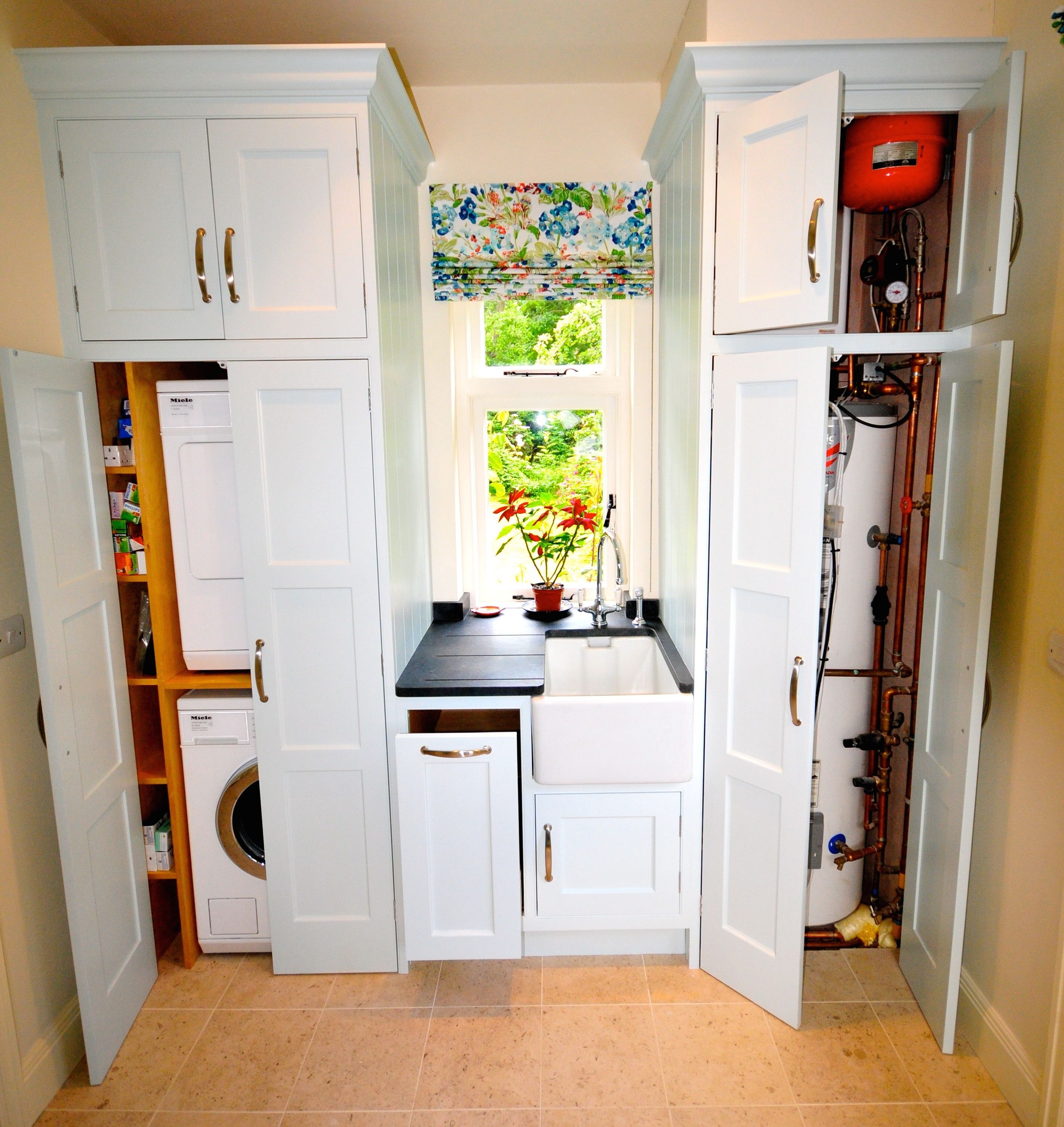 A fully fitted utility room. Making the most of the space