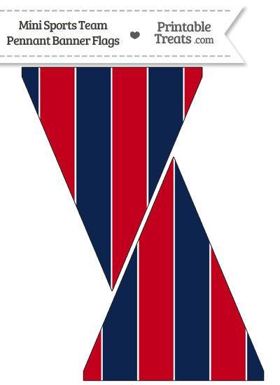 Patriots Colors Mini Pennant Banner Flags Pennant Banners Banner 49ers Colors