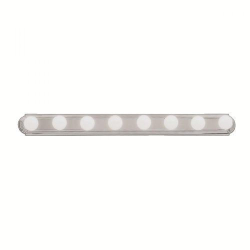Kichler Lighting 5019ni 8 Light Bathbar Bathroom Light Brushed Nickel By Kichler Lighting 51 39 From Vanity Light Bar Bath Vanity Lighting Vanity Lighting
