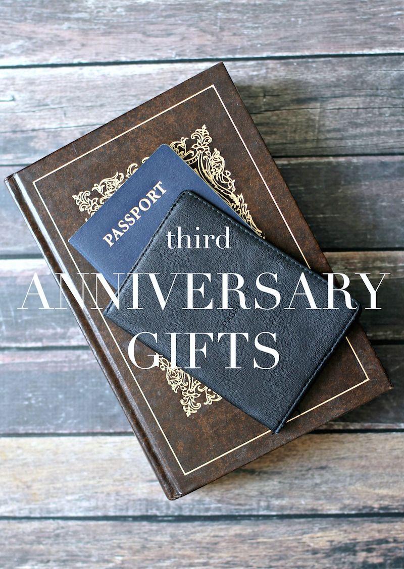 3rd Anniversary Gifts 3rd anniversary gifts, Anniversary