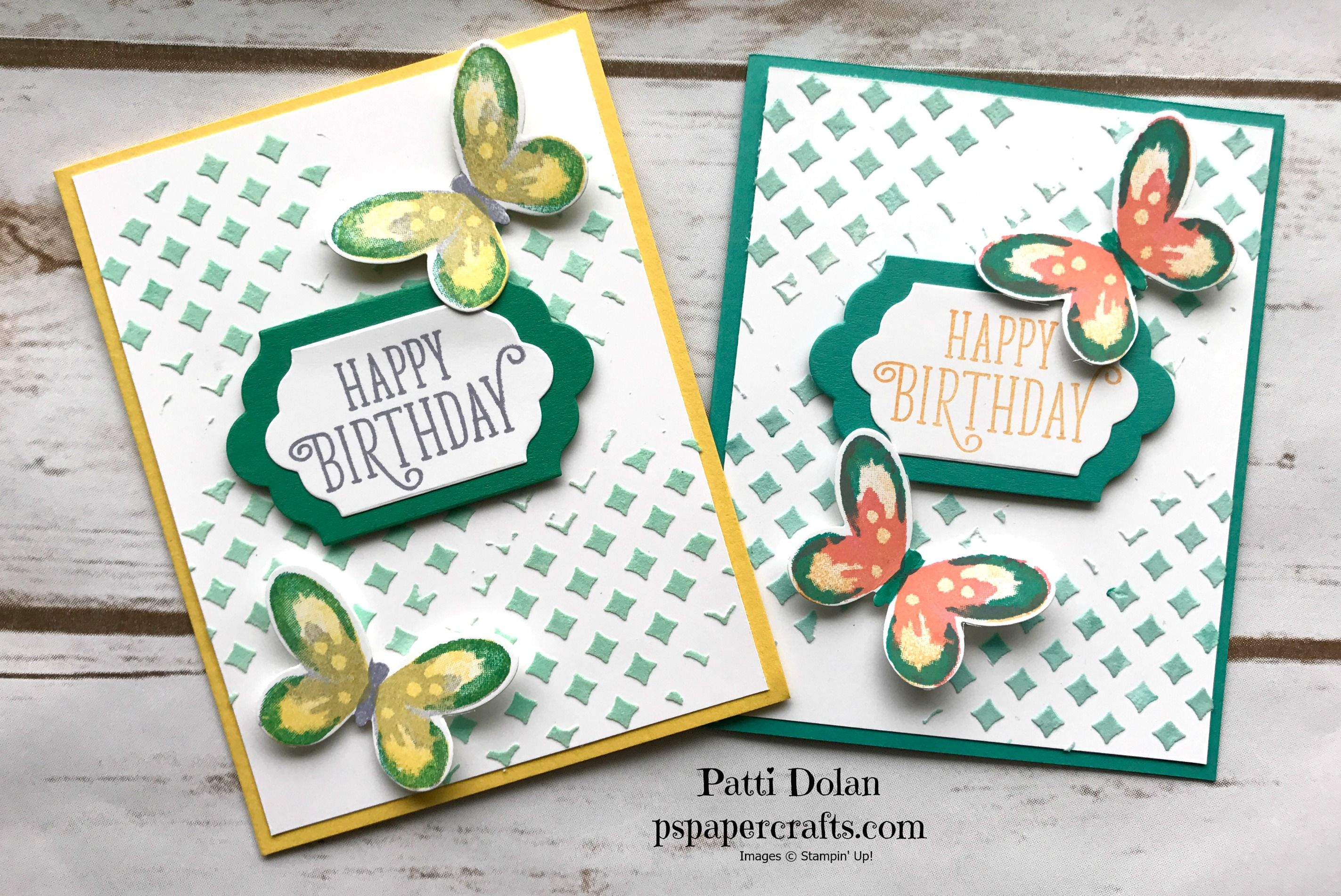 Watercolor butterfly birthday card happy birthday cards happy