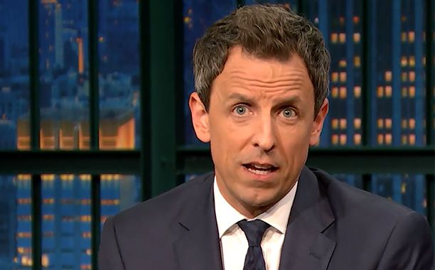 Seth Meyers has responded to Donald Trump's presidential victory with a mix of humor, candid emotion, and even a glimmer of optimism.  In a compelling excerpt from Wednesday's episode of Late Night, Meyers admits that he was disappointed when Hillary Clinton didn't become the first female president of the United States, and that Trump's success has surprised him at every turn. But he also expresses empathy and hope.