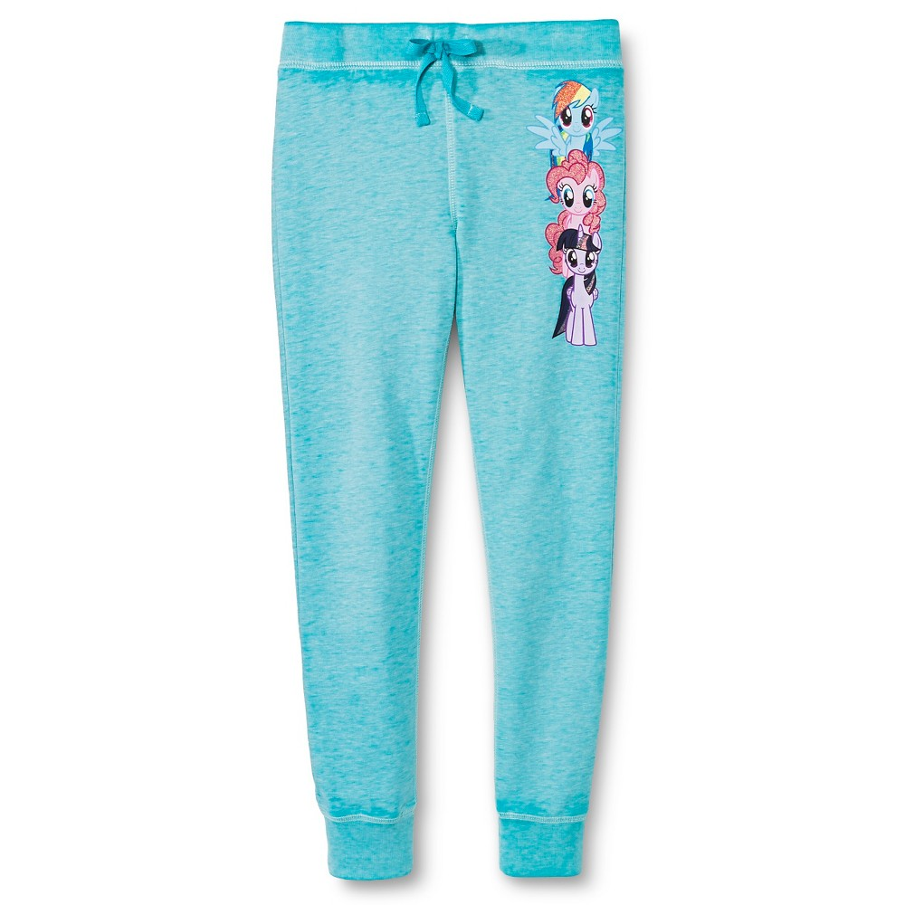 Plus Size Girls' My Little Pony Joggers - Turquoise M Plus, Girl's
