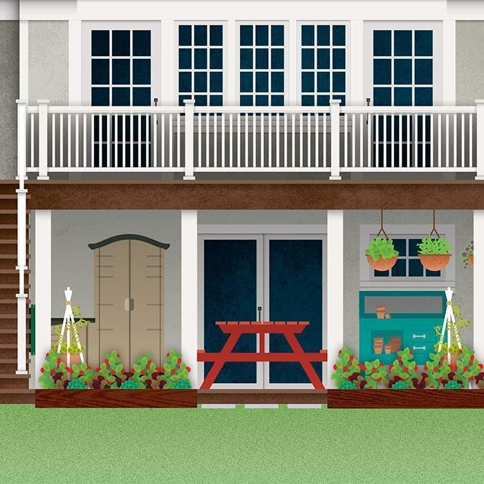 Creative Screened Porch Design Ideas: Image Result For Storage Under Deck Ideas