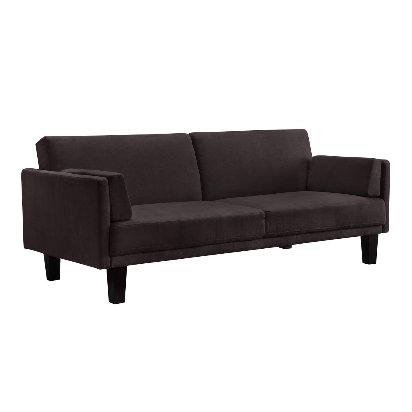 Dhp 3201 Metro Futon Sofa Bed Brown Sofa Bed Black Sofa Bed Red
