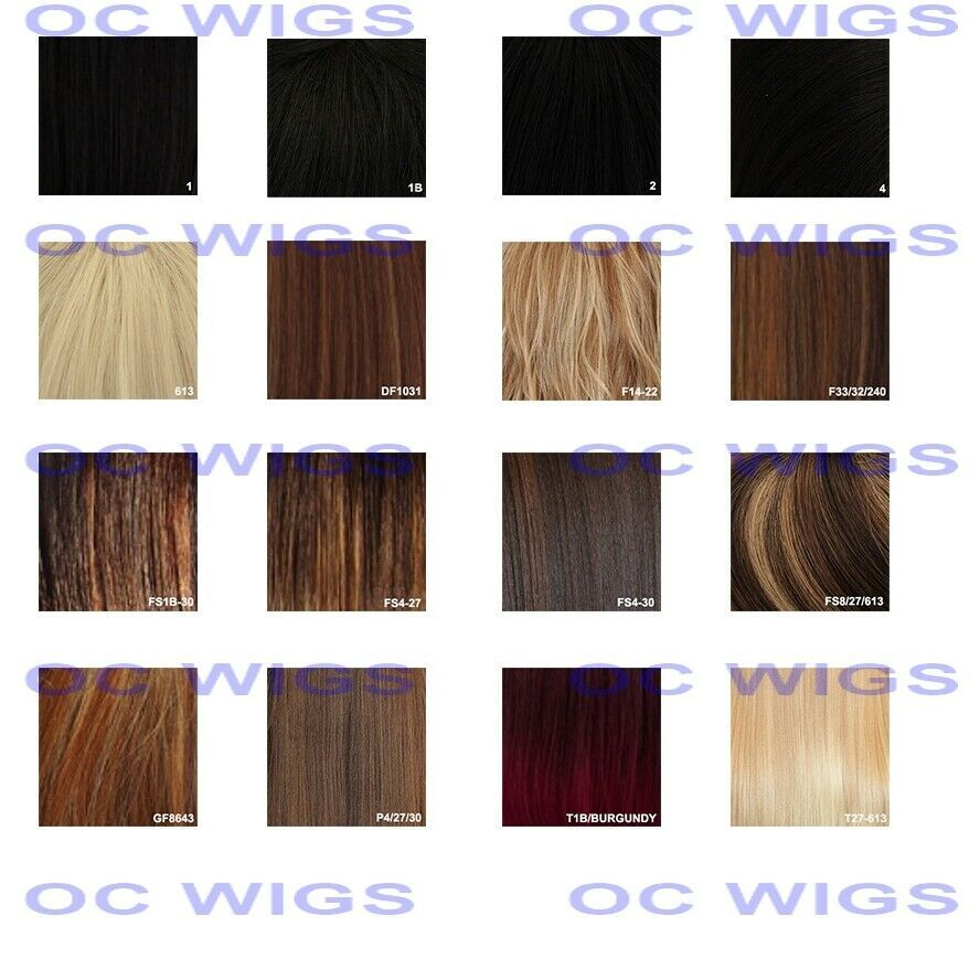 Light Brown Blonde Mix Layered Straight Heat Ok Synthetic Wig Wblp