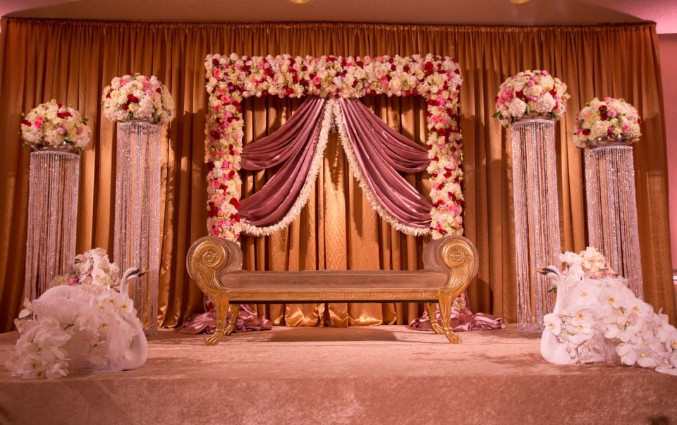 Debut Stage Backdrop stage setup | For Wedd...