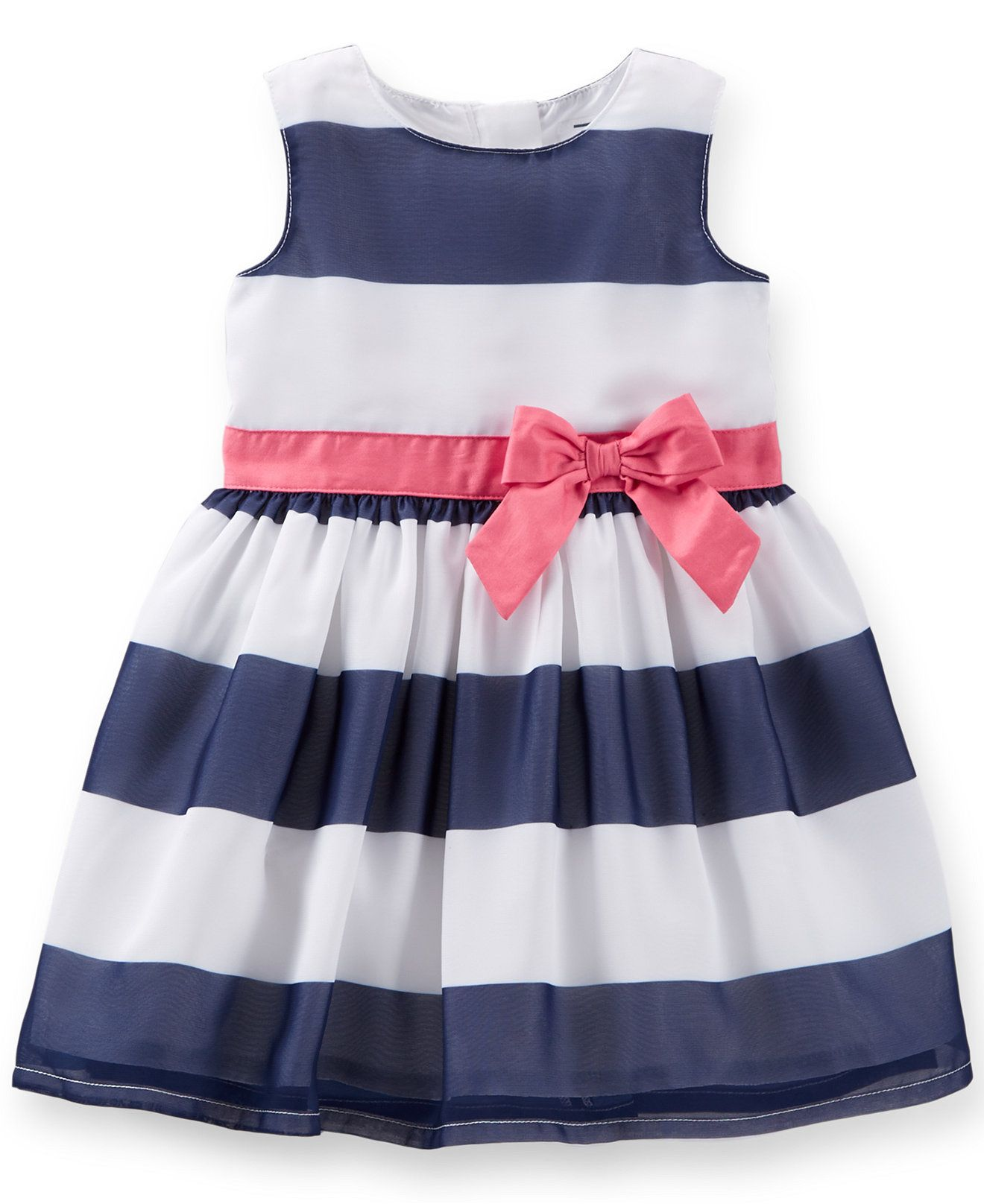 bee805c7fabb  21.99 Carter s Baby Girls  Striped Dress - Kids - Macy s