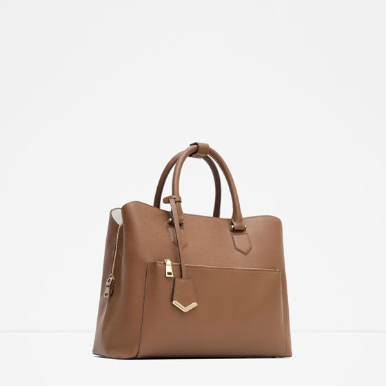 f1f3a9b07e OFFICE CITY BAG-View all-BAGS-WOMAN | ZARA Macedonia | Zara | Bags ...