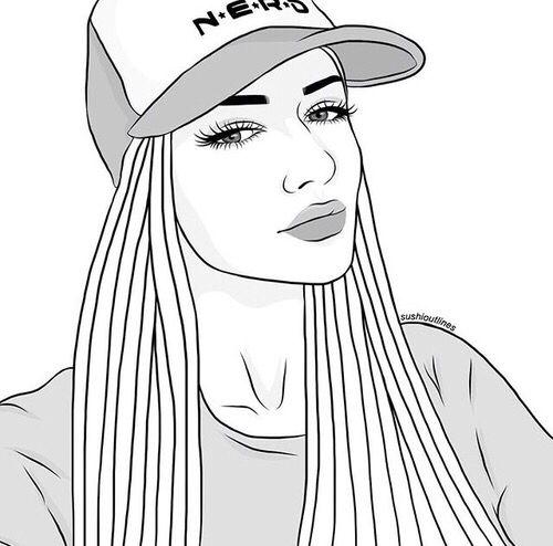 Pin De Anna En O U T L I N E S Dibujos Dibujos Tumblr Para