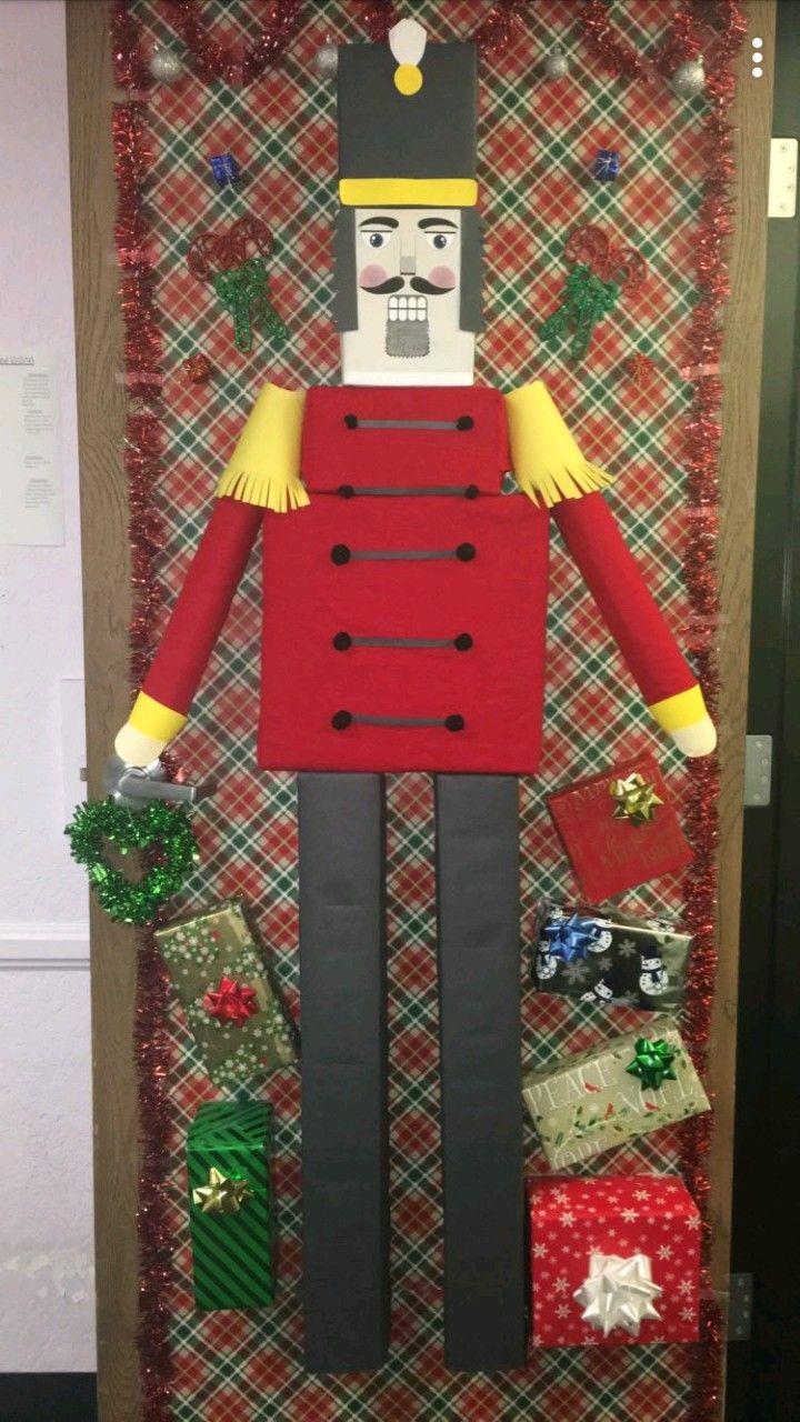 NUTCRACKER Christmas Door for Xmas Door Decorating contest ...