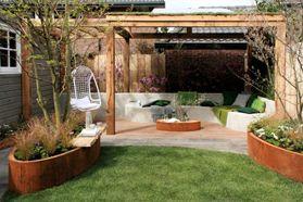 De organische designtuin eigen huis tuin tuin garden terras idea 39 s pinterest tuin - Kleine designtuin ...
