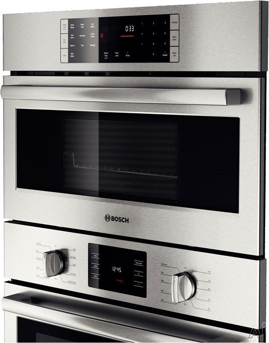 Bosch Sd Combination Wall Oven With Cu European Convection Microwave 11 Cooking Modes Ecoclean Self Clean And Light